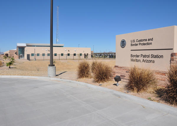 U.S. Customs and Border Protection's Border Patrol Station in AZ