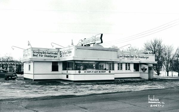 Gus and Edith Belt opened the first location at Main Street and Virginia Avenue in Normal in 1934. Their family sold the company in 1969.