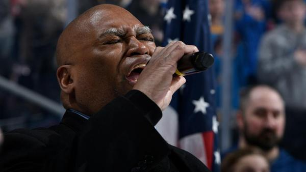Longtime national anthem singer Charles Glenn, 64, has announced plans to retire at the end of the St. Louis Blues' 2019 season.