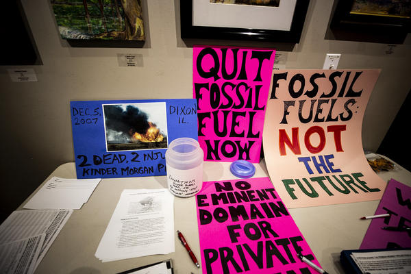 Under a Trump administration proposal, protesters could face up to 20 years in prison for interfering with oil and gas pipelines.