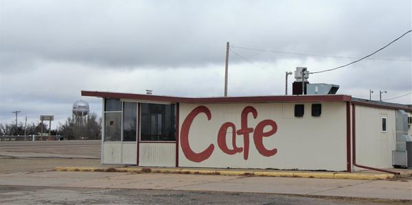 This cafe in Kinsley in southwest Kansas sits in one of the parts of the state that is getting lonelier. Gov. Laura Kelly says she wants to find solutions for struggling rural areas.