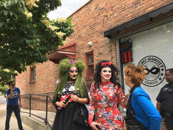 Other drag queens and kings attended event