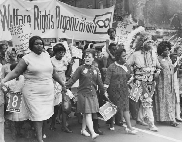 "At its height, the National Welfare Rights Organization had more than 25,000 dues-paying members. Some people have called it ""the largest black feminist organization in American history."""
