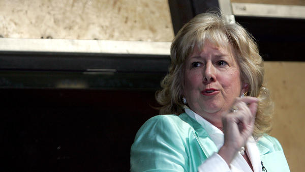Linda Fairstein, seen at an event in New York City in 2004, parlayed her fame as a prosecutor into a prolific run as a crime novelist.