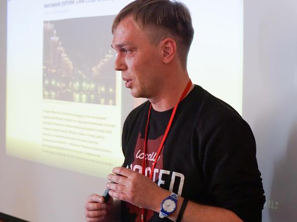 Russian journalist Ivan Golunov in Moscow on October 27, 2018.