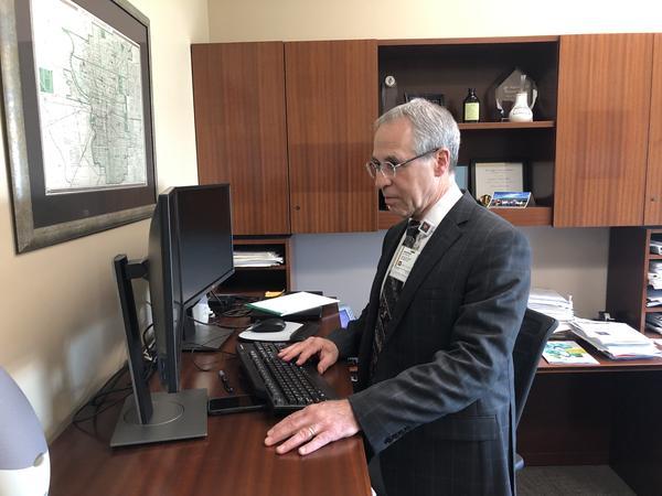 Dr. Jonathan Gottlieb, IU Health's Chief Medical Officer