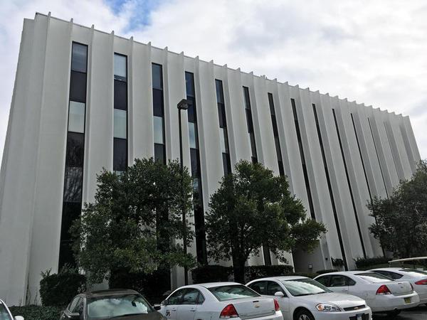 Charlotte immigration court building.
