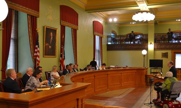 The Senate Finance Committee has been hearing testimony on the budget for a few weeks.
