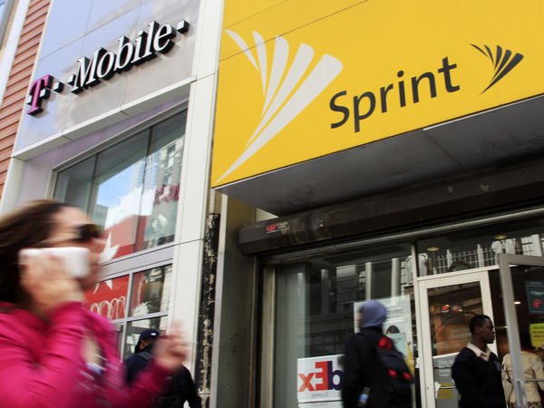 Ten state attorneys general are suing T-Mobile and Sprint to try to block their merger.