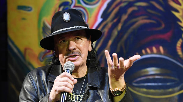 """Everything's new to me, with purity and innocence,"" Carlos Santana says. ""It's all in how your heart perceives things."""