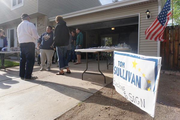 Rep. Tom Sullivan said that many of his constituents were outraged by the recall effort.
