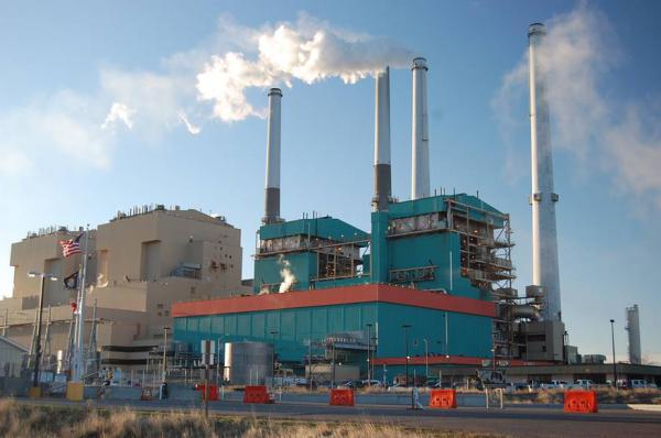 Power plant at Colstrip, MT.