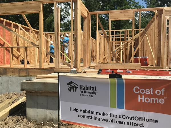 Habitat for Humanity of Kansas City and other chapters around the nation are participating in #CostofHome campaign.