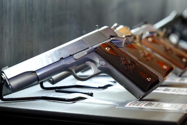 Nine states and Washington, D.C., currently have licenses for gun purchases.