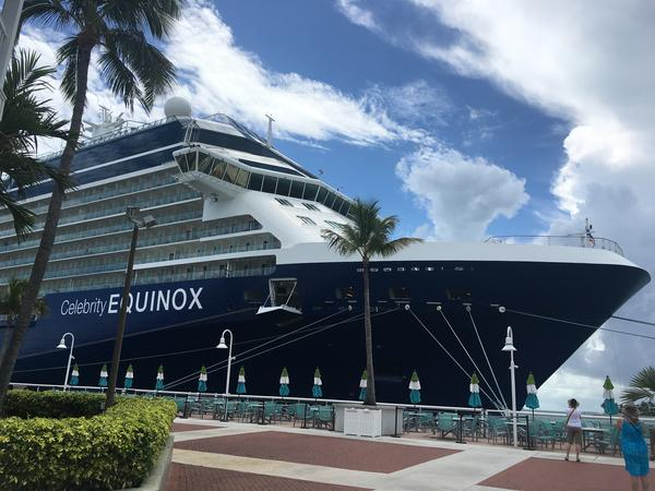 Key West receives about 300 cruise ship visits a year. Last year they brought 860,000 passengers to the island.