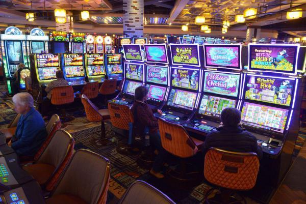 Inside MGM Springfield.