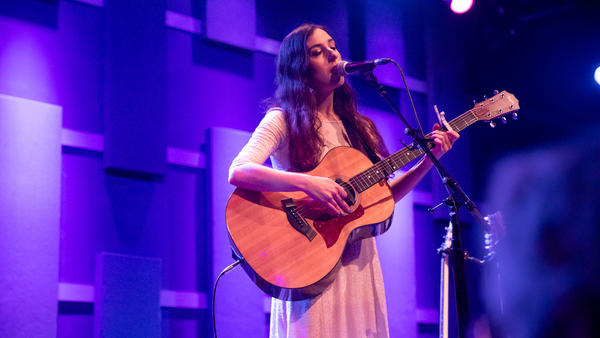 Marissa Nadler performing live at WXPN's Free At Noon Concert - recorded live for World Cafe.