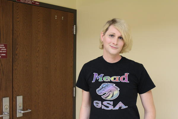 Transgender Wichita middle school teacher Kendall Hawkins has advocated for better protections for transgender students in the district.