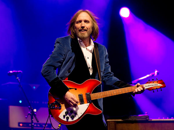 The late Tom Petty, playing on the Isle of Wight in England in 2012. According to a recent <em>New York Times</em> investigation, master recordings by Petty may have been destroyed in a 2008 fire.