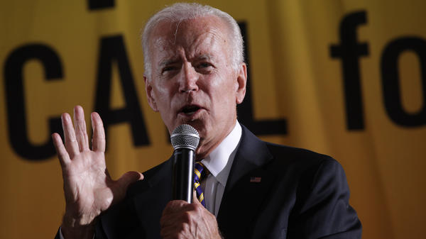 Former Vice President Joe Biden said fellow Democratic presidential candidate Sen. Cory Booker should apologize for suggesting he's insensitive to racial issues after recalling how he could put aside differences to work with segregationist lawmakers.
