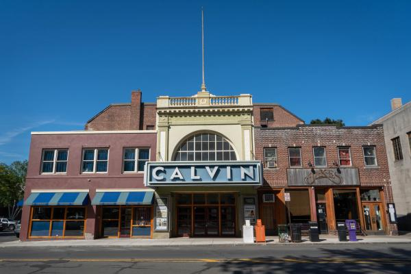 The Calvin Theatre at 19 King Street in Northampton, Massachusetts.