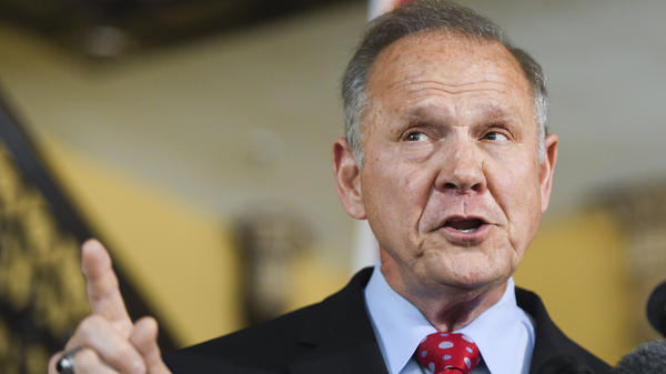 Former Alabama Chief Justice Roy Moore announces his run for the Republican nomination for U.S. Senate on Thursday. He lost the 2017 special election to Democrat Doug Jones after multiple allegations of sexual assault and harassment against him surfaced.