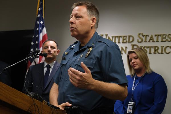 Kansas City Police Chief Rick Smith speaks during a press conference Friday, June 21, 2019 at Charles Evans Whittaker U.S. Courthouse.