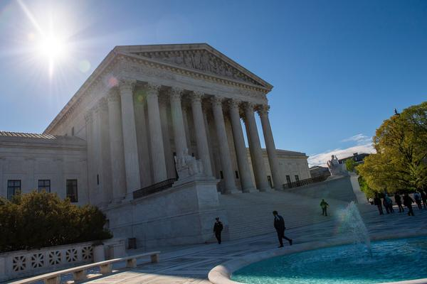 The justices of the U.S. Supreme Court decided a property rights case that overturned decades of precedent.