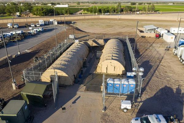 It is unclear why U.S. Customs and Border Protection sent 100 children back to the substation in Clint, Texas.