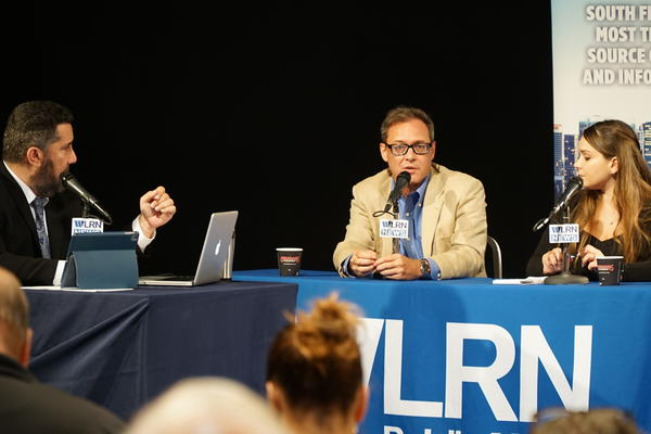 Tim Padgett, WLRN's America's editor, on Monday addresses the topic of Venezuela and TPS at Sundial's town hall community event.