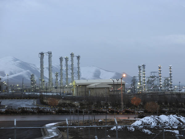 A file photo from Jan. 15, 2011, shows Iran's heavy water nuclear facility near Arak. Iran plans to walk back modifications to a nuclear reactor at the site.