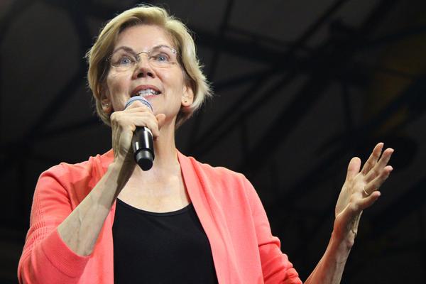 Elizabeth Warren hosts a community town hall at Florida International University on Tuesday, June 25, 2019.