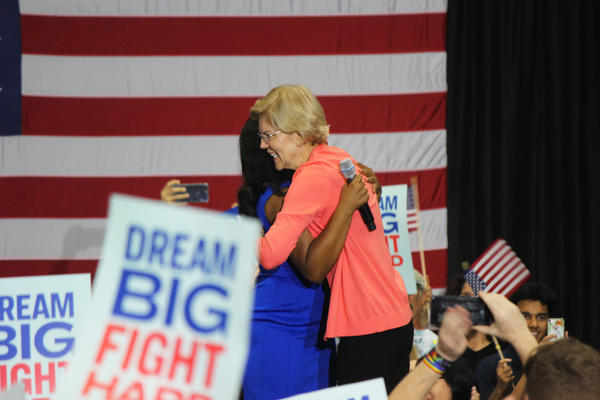 Elizabeth Warren hosts a community town hall at FIU on Tuesday, June 25, 2019.