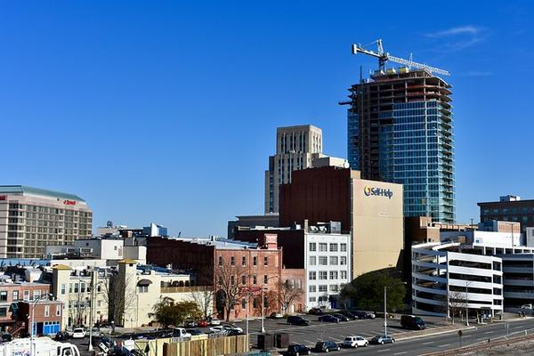 The redevelopment of downtown Durham fuels increasing housing and property costs in the city.