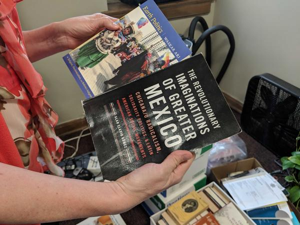 These are two books that were removed from the Education Justice Project's library inside the Danville Correctional Center. State lawmakers plan to hold a hearing on the issue on July 8, 2019