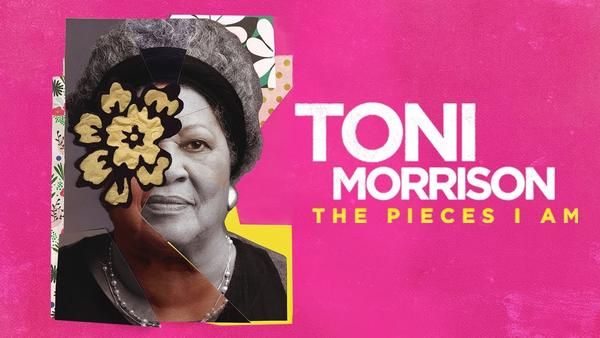 The film cover of a new Toni Morrison documentary.
