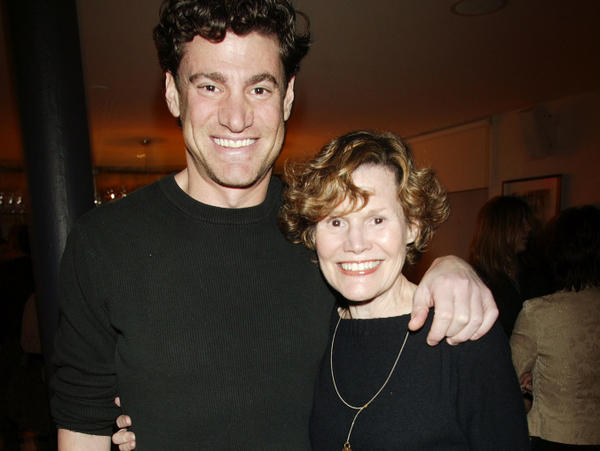 """<a href=""""http://twitter.com/#!/judyblume"""">Prolific tweeter</a> Judy Blume and her son, Lawrence Blume, are currently working on a film adaptation of her 1981 novel, <em><a href=""""http://www.npr.org/books/titles/142854902/tiger-eyes"""">Tiger Eyes</a>.</em>"""