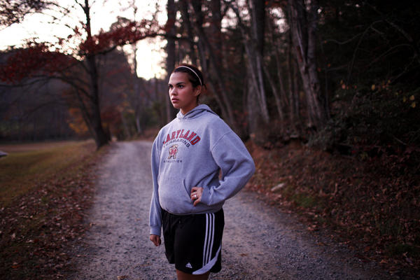 """At first Bethany lost a lot of weight, but hitting a plateau disappointed her. """"There's gonna be some weeks when it's just half a pound,"""" she says in October, """"and some weeks when I'm just going to maintain. So I have to be happy with what I get, I guess."""""""