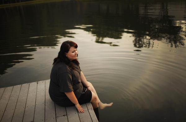 """Savannah Davis, 16, of Lufkin, Texas, said her goal at Wellspring was to feel better about herself. """"Just not having all this weight on me is going to make me feel better,"""" she said when she started the program in August. She says she knew """"it would be hard work, but I'm ready to do it."""""""