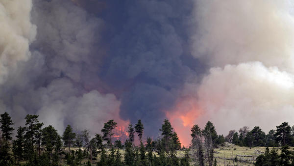 The High Park wildfire swept through the rural area northwest of Fort Colins, Colo., last June, leaving one person dead.