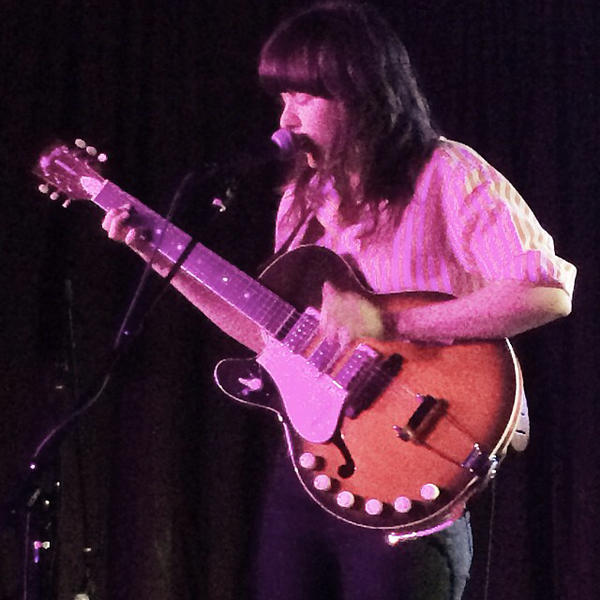 """Australian singer Courtney Barnett. I saw her three times during the festival and couldn't get enough of her.  One of my favorite performers."" <em>- Bob Boilen</em>"