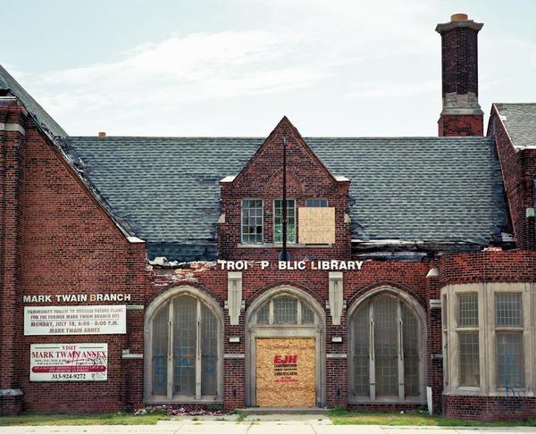 Mark Twain Branch Library in Detroit (2011)