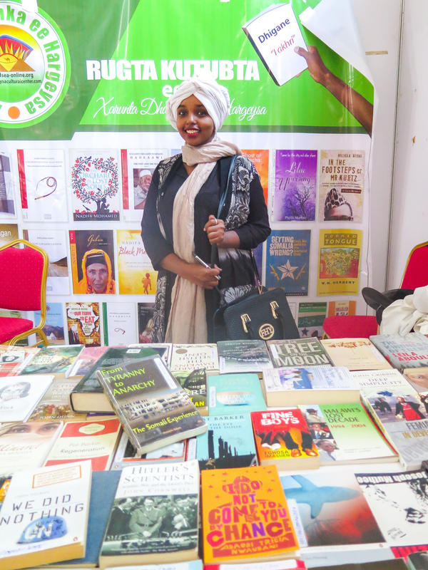 "Hamdi Ali Musa saw her first book when she was 10. Now 25, she's one of Hargeisa's only librarians. ""A revolution has been happening in publishing books, reading, writing and literature,"" she says."
