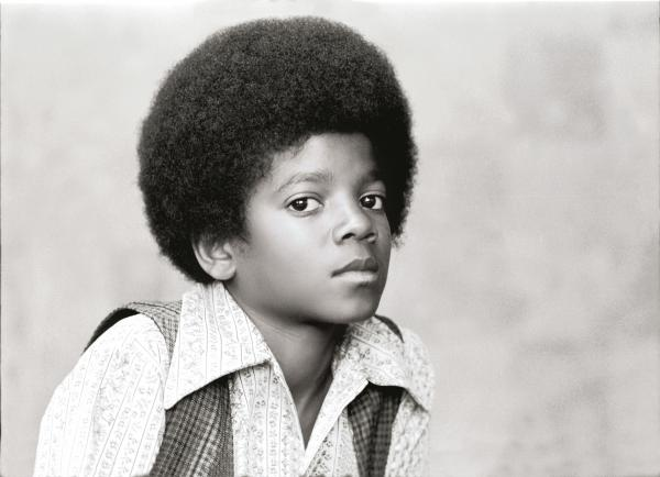Michael Jackson, photographed for <em>Rolling Stone</em> in 1971.