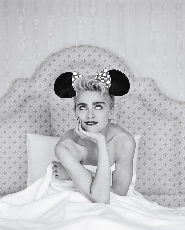 Madonna, photographed for <em>Rolling Stone</em> in 1987.