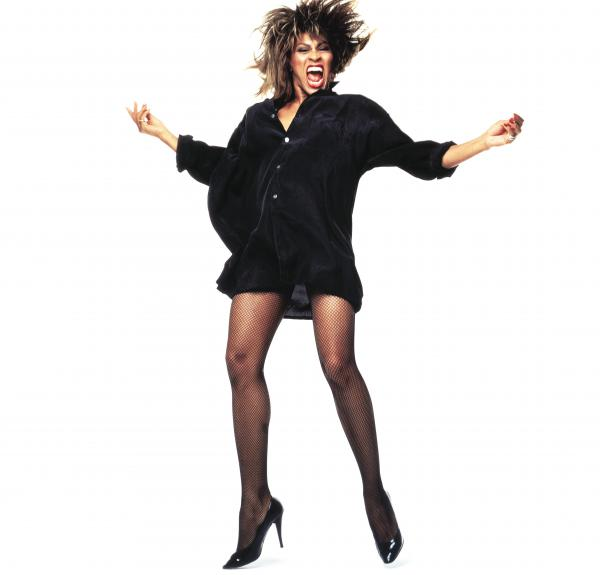 Tina Turner, photographed for <em>Rolling Stone</em> in 1984.