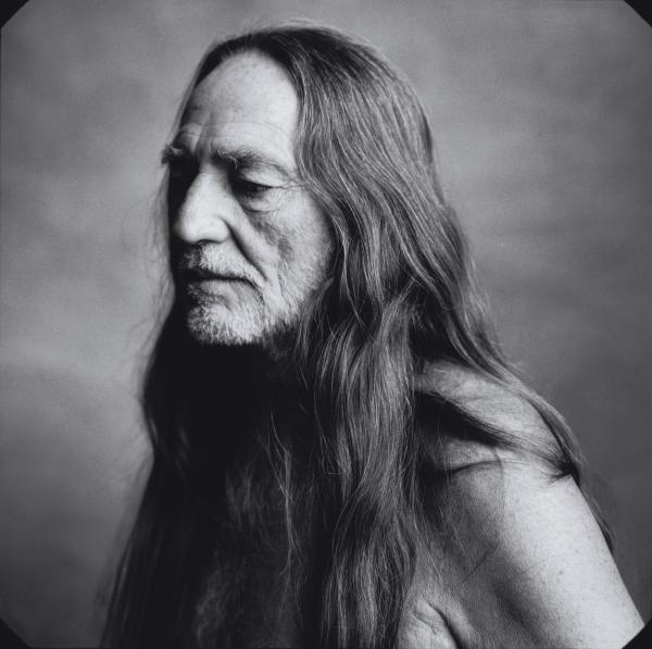 Willie Nelson, photographed for <em>Rolling Stone</em> in 1996.