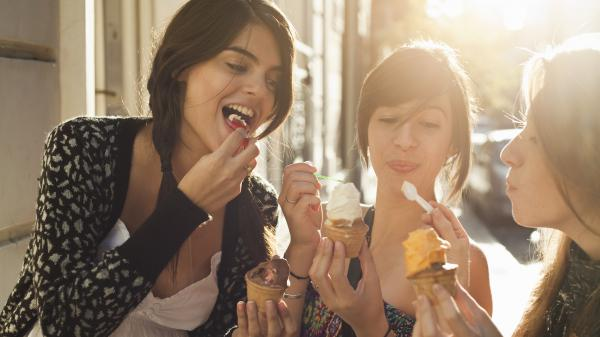 Research suggests that people just feel closer to those who are eating the same food as they do.