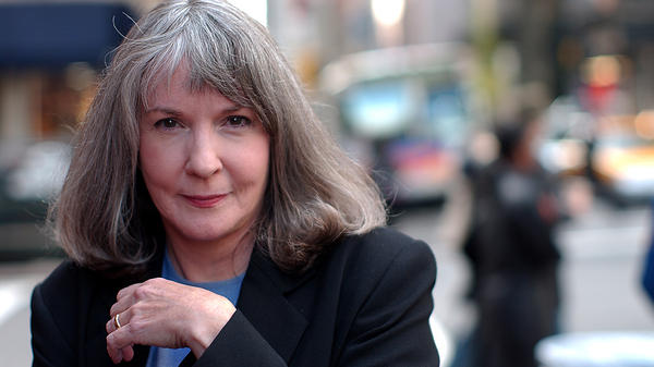 Mystery writer Sue Grafton (pictured here in 2002) died Dec. 28, 2017. Her most recent novel was <em>Y is for Yesterday.</em>