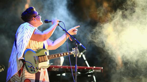 """Brittany Howard of Alabama Shakes performs at Coachella in 2015. Alabama Shakes' song """"Hold On"""" is on our Turning the Tables: 21st Century Edition list."""